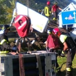 Incidente, coinvolto un autocarro con bombole di idrogeno