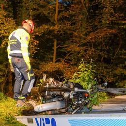 La tragedia di Senna  Il morto in moto  abitava a Schignano