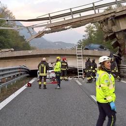 Il crollo del ponte come in Brianza:  Roma: «Troppa incuria, tutti responsabili»