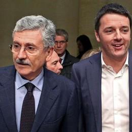 Minniti, Renzi  e la nemesi di D'Alema