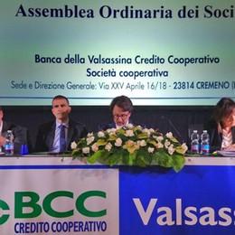 Banca della Valsassina  Cresce la raccolta