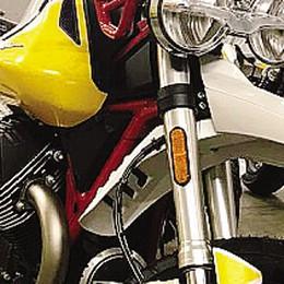 Moto Guzzi in salute    Le vendite della V85 Tt  fanno volare l'aquila