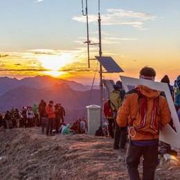 Si sale sul San Primo  per ammirare l'alba  Stavolta saranno 500