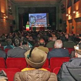 Alpini riuniti a Sondrio, 7mila soci e grandi traguardi: «Ora tutti a Milano»