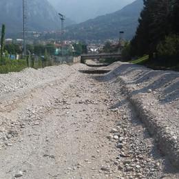 Il Comune ripulisce l'alveo del Meria  Denunciato e multato per 24mila euro