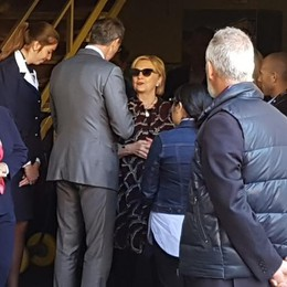 Hillary Clinton lascia Como  «Posto incantevole, tornerò»