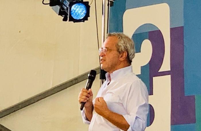 Enrico Mentana a Camogli
