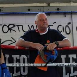 Addio Giorgio Frigerio, maestro di boxe  «Un uomo dal cuore grande ma fragile»