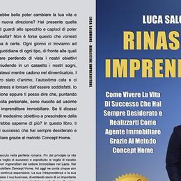 "Luca Salomone lancia ""Rinascere Imprenditore"": subito Bestseller"