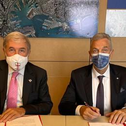 Firmato il protocollo d'intesa tra Genova e Recanati per lo sviluppo del patrimonio culturale e arti