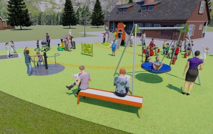 Barzio, un parco giochi alla Fornace  Dove tutti i bambini sono uguali