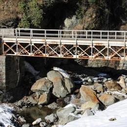 Ponte di Pagnona, conto alla rovescia  «Provinciale 67 chiusa per due mesi»