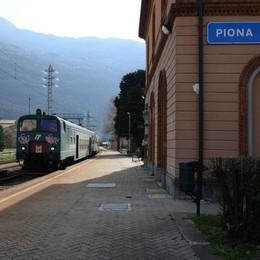 Dorio-Piona: stop ai treni  Solo bus fino al 7 maggio
