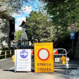 Bellano-Taceno, niente da fare  Stop almeno fino al 20 maggio