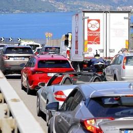 Ancora code sulla Statale 36  Tutti in fila tra Lecco e Abbadia