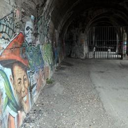 Tunnel del Moregallo all'asta  Servono almeno 350mila euro