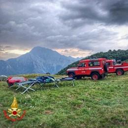 Temporale all'alba a Camaggiore  Evacuate le tende di cinquanta persone