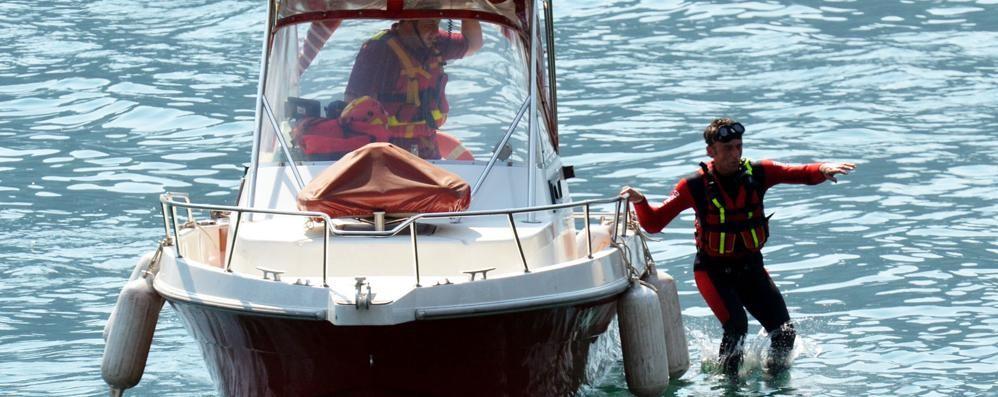 Varenna, corpo senza vita  recuperato nel lago